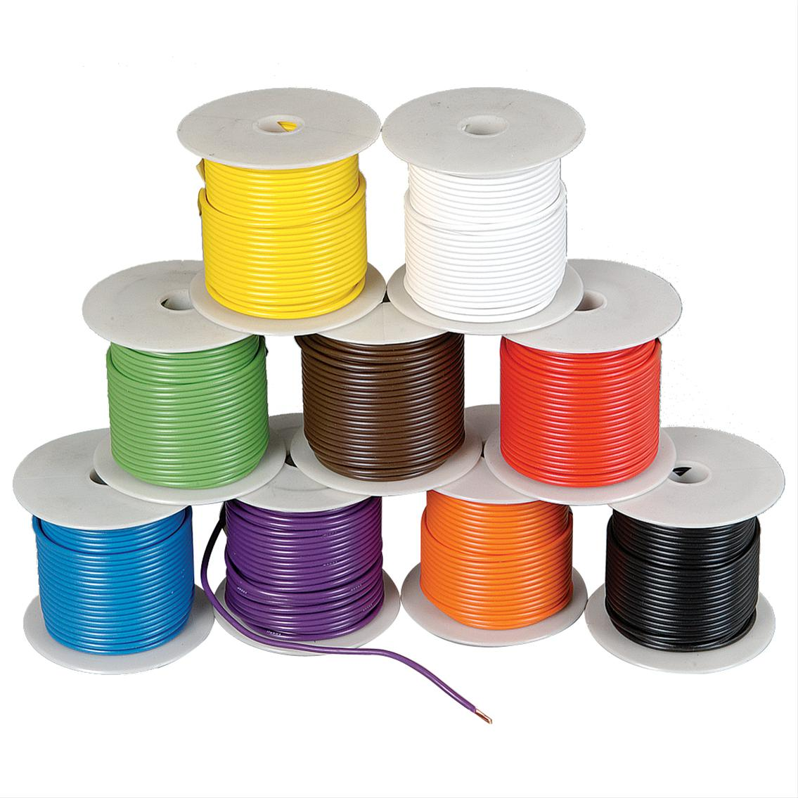 Rolls of electronic grade wire